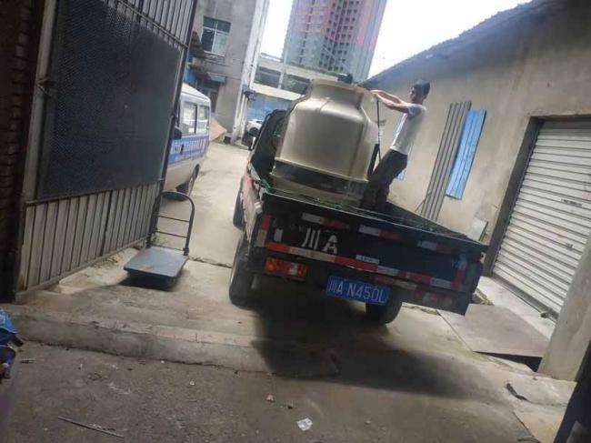 重庆开州LH-20T圆形冷却塔物流发货